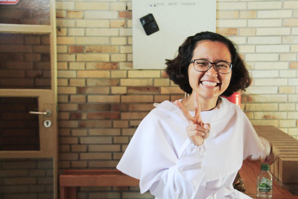 Marella Nathania sebelum dibaptis