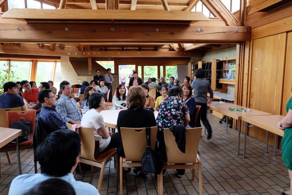 Suasana Kaffezeit bersama Alumnia Immanuel